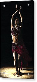 Desert Dancer Acrylic Print by Richard Young