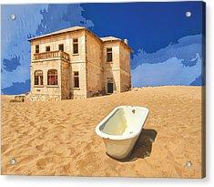 Desert Dreamscape 3 Acrylic Print