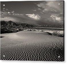 Desert Dunes Acrylic Print by Gary Cloud
