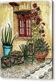 Desert Garden Acrylic Print
