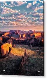 Desert Glow   Acrylic Print
