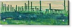 Desert Horizon Vertical Acrylic Print