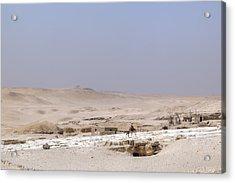 desert in Egypt Acrylic Print by Joana Kruse