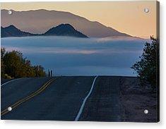 Desert Inversion Highway Acrylic Print