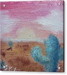 Desert Landscape Acrylic Print by Jera Sky