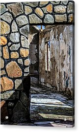 Desert Lodge View 1 Acrylic Print