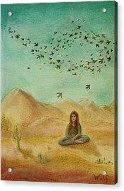 Desert Mantra Acrylic Print