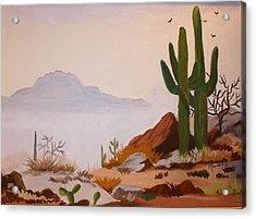 Desert Mist Acrylic Print