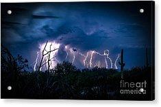 Desert Monsoon Acrylic Print