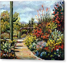 Desert Museum Garden Tucson Acrylic Print