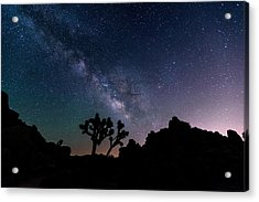 Desert Night Sky Acrylic Print