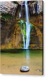 Desert Oasis  Acrylic Print by James Marvin Phelps