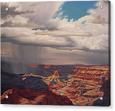 Desert Palisades Acrylic Print