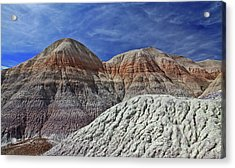 Acrylic Print featuring the photograph Desert Pastels by Gary Kaylor