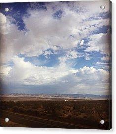Desert Sky. #mojave #sanbernardino Acrylic Print
