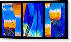 Acrylic Print featuring the photograph Desert Sky by Paul Wear