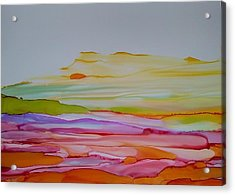 Desert Steppe Acrylic Print