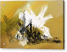 Desert Storm Acrylic Print by Art Spectrum
