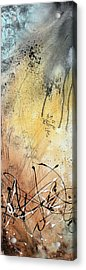 Desert Surroundings 1 By Madart Acrylic Print by Megan Duncanson