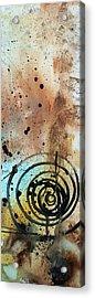 Desert Surroundings 4 By Madart Acrylic Print by Megan Duncanson