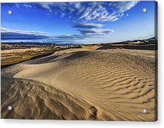 Desert Texture Acrylic Print by Chad Dutson