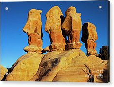 Desert Trolls Acrylic Print