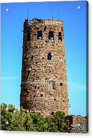 Desert View Watchtower At The Grand Canyon Acrylic Print