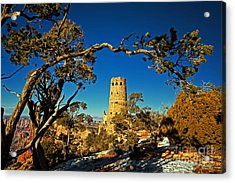 Desert View Watchtower, Grand Canyon National Park, Arizona Acrylic Print