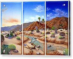Desert Vista Acrylic Print by Snake Jagger