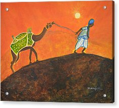 Desert Walk Acrylic Print