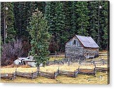 Deserted Farm Acrylic Print