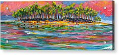 Deserted Island Acrylic Print