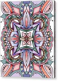 Design 217 E Acrylic Print