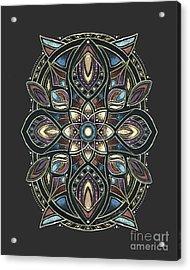 Design 222 A Acrylic Print