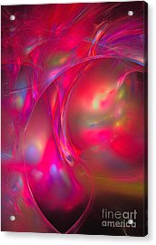 Acrylic Print featuring the digital art Desire by Sipo Liimatainen