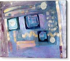 Desktop  Acrylic Print by Don  Wright