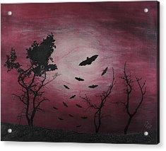 Desolate Acrylic Print by Arnuda
