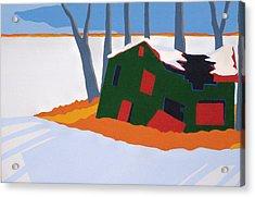 Desolate Kiln Acrylic Print