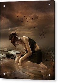 Desolation Acrylic Print by Mary Hood
