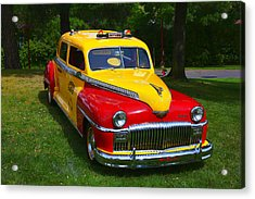 Desoto Skyview Taxi Acrylic Print by Garry Gay