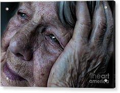 Despair Acrylic Print by Chenique Slier