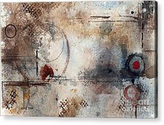 Desperation Acrylic Print by Monte Toon