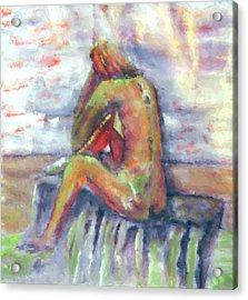 Despondent Acrylic Print by Shelley Bain