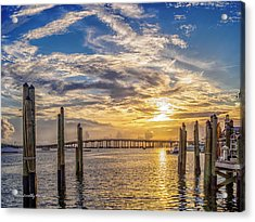 Destin Harbor #1 Acrylic Print