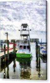 Acrylic Print featuring the photograph Destin Harbor Marina by Mel Steinhauer