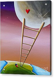 Destination Moon Acrylic Print