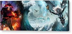 Destiny Of Velious Acrylic Print by Ryan Barger