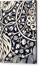 Detail Design For Avon Chintz Acrylic Print by William Morris