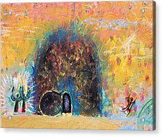 Detail Of Empty Tomb Acrylic Print