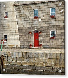 Detail Of Howth Lighthouse Acrylic Print by Gabriela Insuratelu